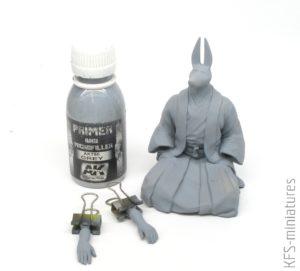 Anubis Samuraj - Warsztat - Malowanie