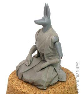 Anubis Samuraj - Warsztat - Rzeźba